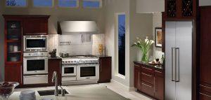 En la imagen se aprecia el diseño de una cocina