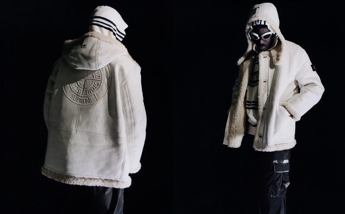 Colaboración de chaquetas Supreme y Stone Island 2020