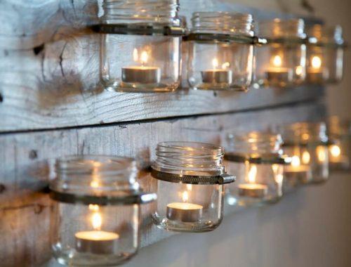 Deliciosas velas decorativas fragancia otoño