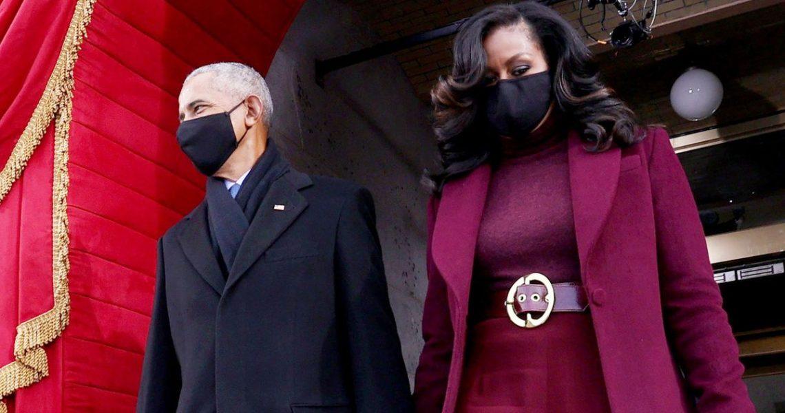 Michele Obama en el Inaguration Day 2021