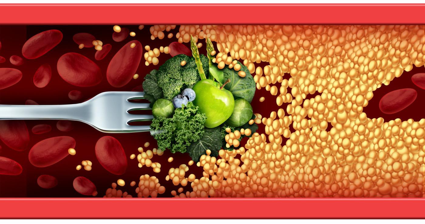 comida saludable para bajar el colesterol