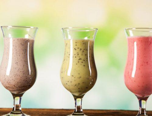 Opciones de batidos con proteína saludables