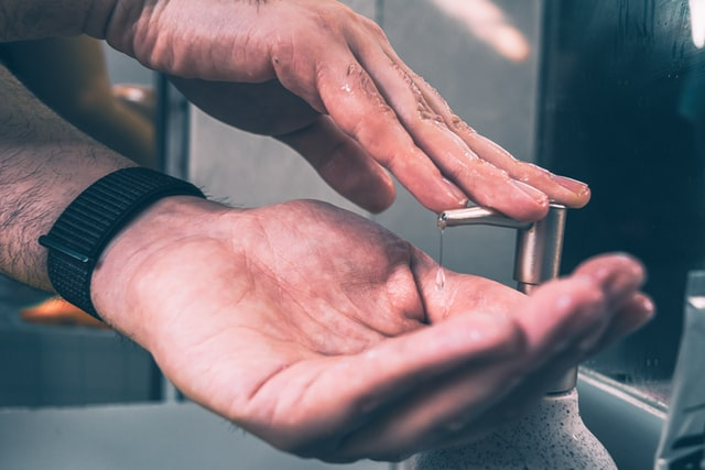 Cómo usar correctamente un jabón para manos