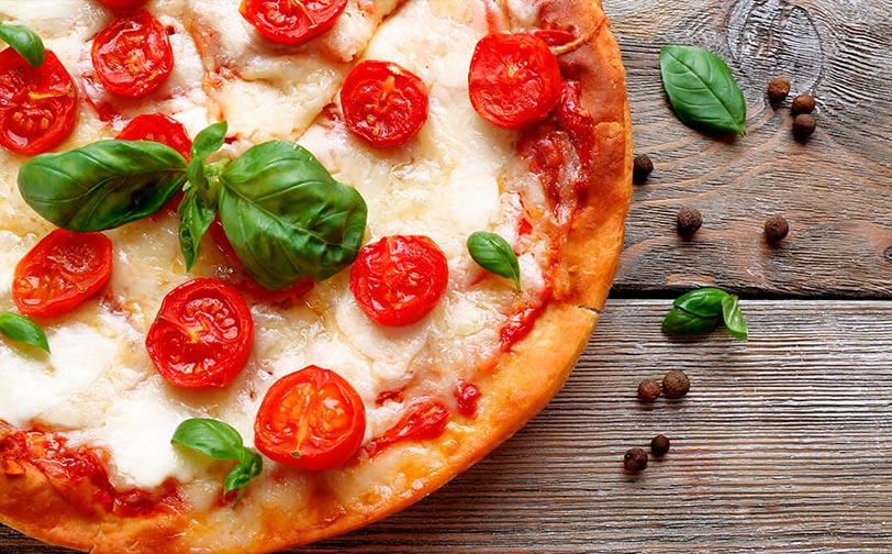 pizza italiana receta margarita